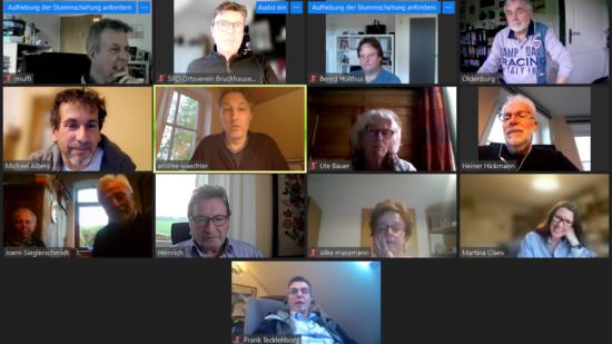 Screenshot Mitgliederversammlung